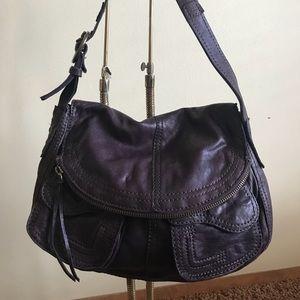 Lucky Brand Dark Purple Shoulder Bag